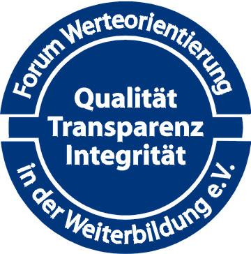 Siegel Forum Werteorientierung in der Weiterbildung